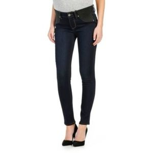 PAIGE Ankle Skinny Maternity Jeans